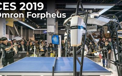 CES 2019 – Omron Forpheus automated Ping Pong