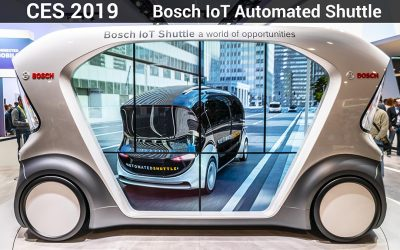 CES 2019 – Bosch IoT automated shuttle and the future of Autonomous mobility