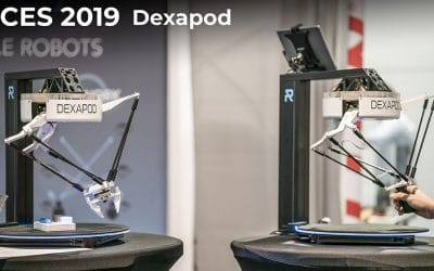 CES 2019 – Dexapod by robotically at the Consumer Electronics Show