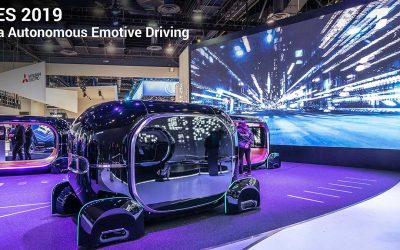 CES 2019 – Kia Autonomous Cars Emotive Driving R.E.A.D. Real Emotive Adaptive Driving