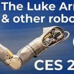 Ces 2019_The Luke Arm_Prosthetic_Suit X_Robots at the CES show_CES 2020_House of Design Robotics_Web