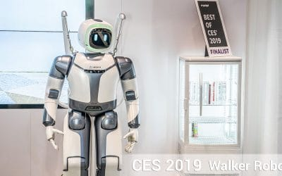 CES 2019 – Walker Robot named Best of CES by Engadget