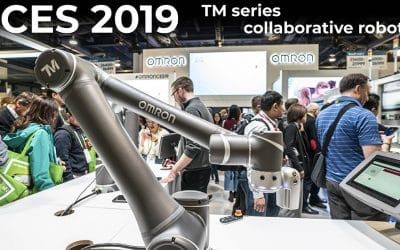 CES 2019 – Omron Technologies Forpheus Ping Pong Adept Astra Delta and TM series collaborative robot